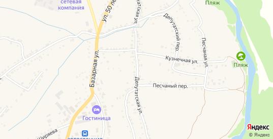 Депутатская улица в Уварово с номерами домов на карте. Спутник и схема онлайн