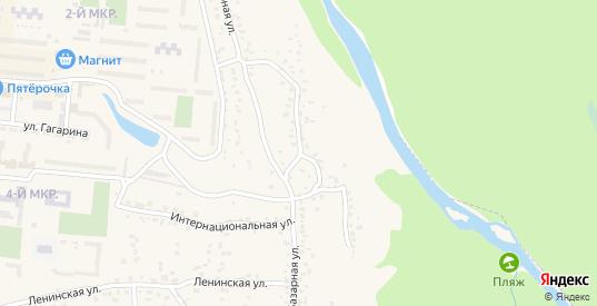 Базарный переулок в Уварово с номерами домов на карте. Спутник и схема онлайн
