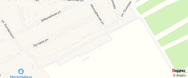 Улица Осипова на карте Уварово с номерами домов