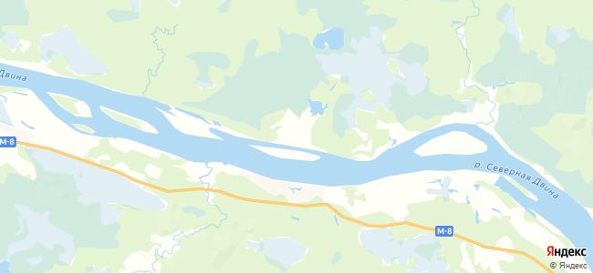 Репаново на карте