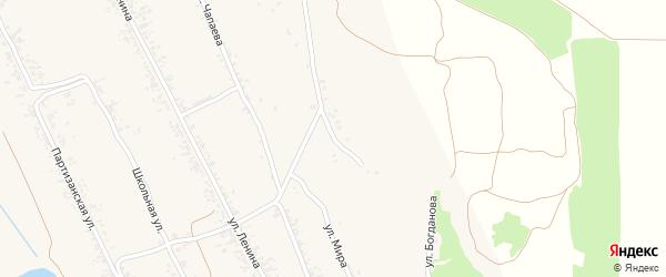 1-я Подгорная улица на карте села Бешпагир Ставропольского края с номерами домов
