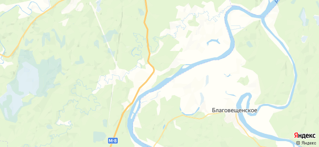 Татаринская на карте