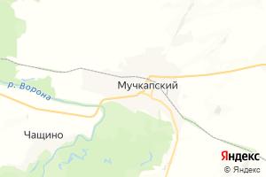 Карта пгт Мучкапский Тамбовская область