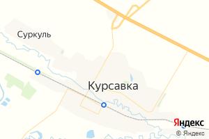 Карта с. Курсавка Ставропольский край