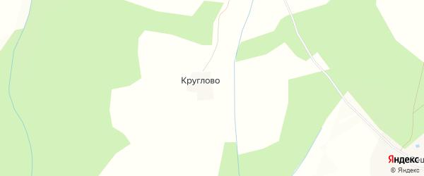 Карта деревни Круглово в Костромской области с улицами и номерами домов