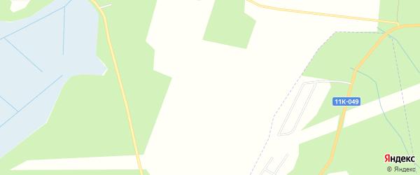 Карта садового некоммерческого товарищества СОТА Вагонника в Архангельской области с улицами и номерами домов