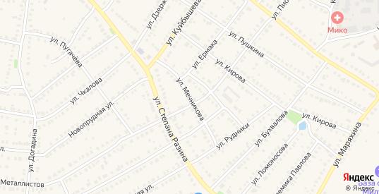 Улица Мечникова в Кулебаках с номерами домов на карте. Спутник и схема онлайн
