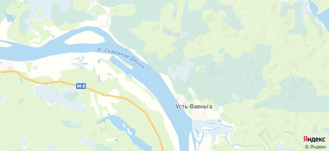 Сплавной на карте
