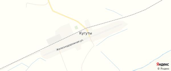 Карта села Кугуты в Ставропольском крае с улицами и номерами домов