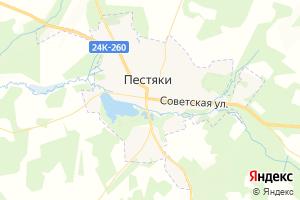 Карта пос. Пестяки Ивановская область