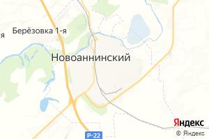 Карта г. Новоаннинский Волгоградская область