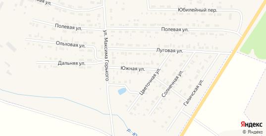 Южная улица в Чухломе с номерами домов на карте. Спутник и схема онлайн