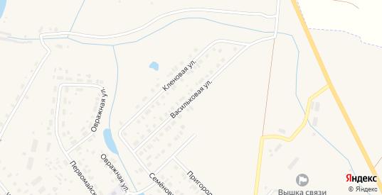 Васильковая улица в Чухломе с номерами домов на карте. Спутник и схема онлайн