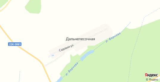 Карта деревни Дальнепесочная в Выксе с улицами, домами и почтовыми отделениями со спутника онлайн
