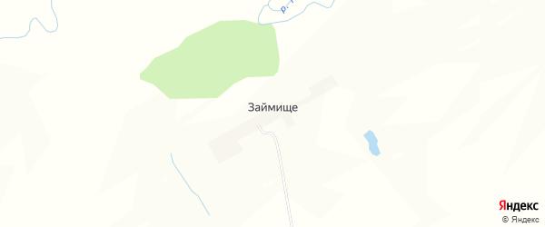 Карта поселка Займища в Пензенской области с улицами и номерами домов