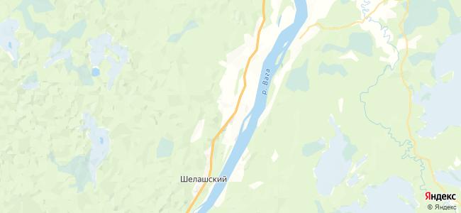 Семеновская на карте