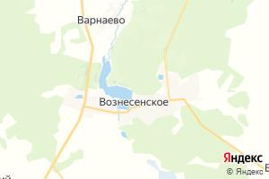 Карта пос. Вознесенское Нижегородская область