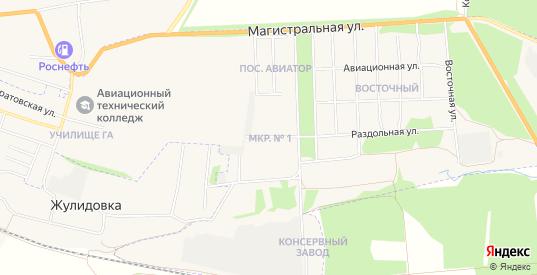 Микрорайон N1 на карте Кирсанова с номерами домов