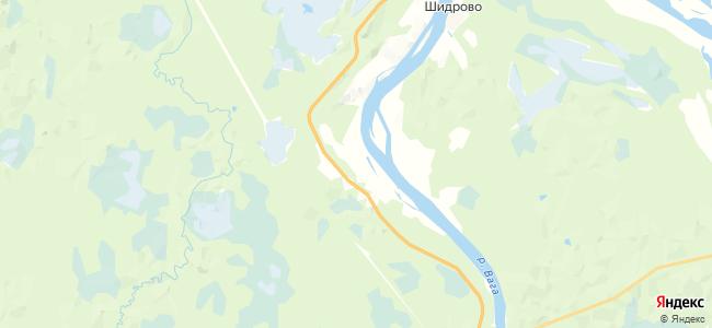 Усть-Вага на карте