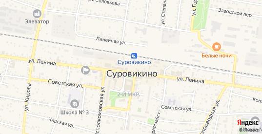 Улица Декабристов в Суровикино с номерами домов на карте. Спутник и схема онлайн