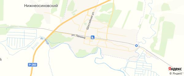 Карта Суровикино с районами, улицами и номерами домов