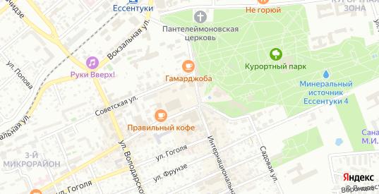 Территория гк Белоугольный в Ессентуках с номерами домов на карте. Спутник и схема онлайн