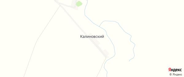 Карта Калиновского поселка в Пензенской области с улицами и номерами домов
