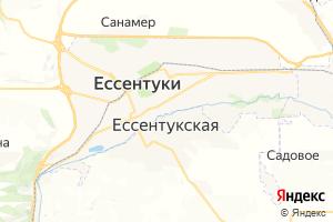 Карта г. Ессентуки Ставропольский край