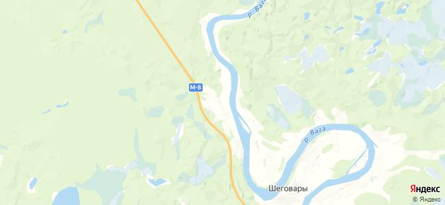Степычевская на карте