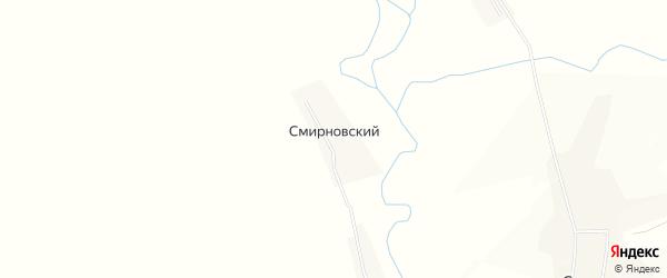 Карта Смирновского поселка в Пензенской области с улицами и номерами домов