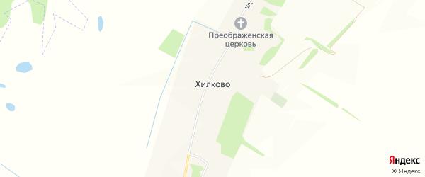 Карта села Хилково в Тамбовской области с улицами и номерами домов