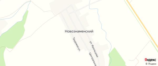 Карта Новознаменского поселка в Пензенской области с улицами и номерами домов