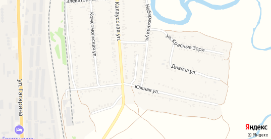 Новосельский переулок в Ипатово с номерами домов на карте. Спутник и схема онлайн