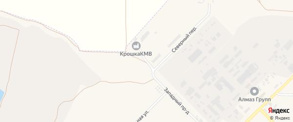 Западный проезд на карте Лермонтова с номерами домов