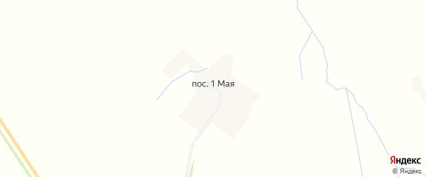 Карта поселка Первое Маи в Пензенской области с улицами и номерами домов