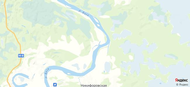 Тюхневская на карте