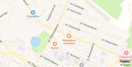 Октябрьская улица в Железноводске с номерами домов на карте. Спутник и схема онлайн