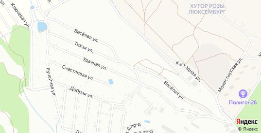 Веселая улица в Железноводске с номерами домов на карте. Спутник и схема онлайн