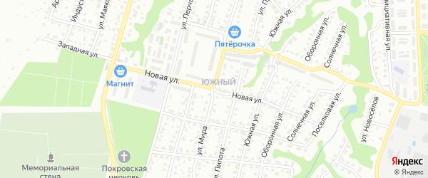 Новая улица на карте Павлово с номерами домов