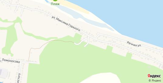 Переулок Мичурина в Горбатове с номерами домов на карте. Спутник и схема онлайн