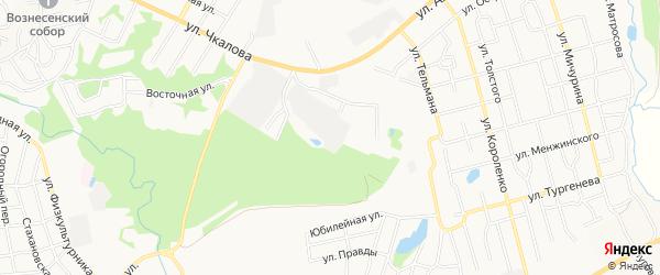 ГСК Гаражный массив 8 на карте Павлово с номерами домов