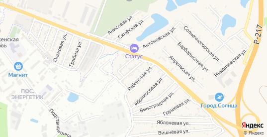 Малиновая улица в Железноводске с номерами домов на карте. Спутник и схема онлайн