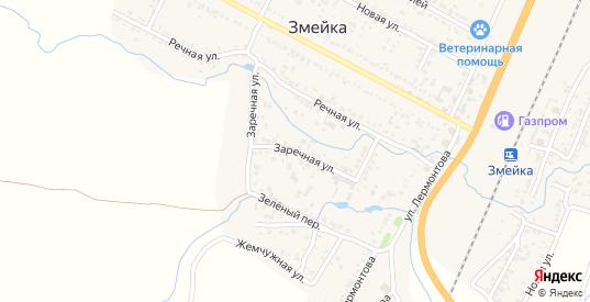 Заречная улица в Железноводске с номерами домов на карте. Спутник и схема онлайн