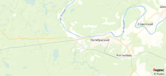 Прокопцевская на карте