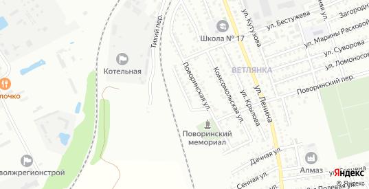Поворинский 2-й переулок в Балашове с номерами домов на карте. Спутник и схема онлайн