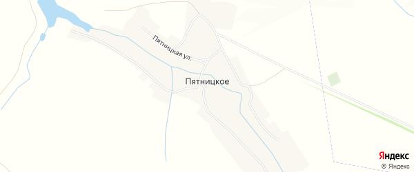Карта Пятницкого села в Пензенской области с улицами и номерами домов