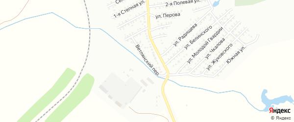 Ветлянский переулок на карте Балашова с номерами домов