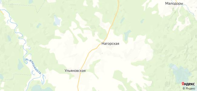Угольская на карте
