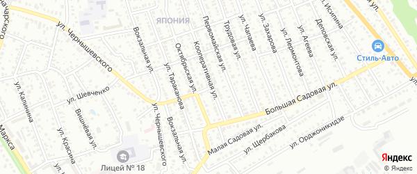 Улица Воровского на карте Балашова с номерами домов