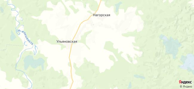 Пашутинская на карте